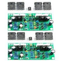 Hisonauto-Placa de amplificador de Audio LJM L20 SE, Toshiba A1943 C5200, estéreo, canales duales, 350W, placa amplificadora 4Ω, kits 4ohm, 2 piezas