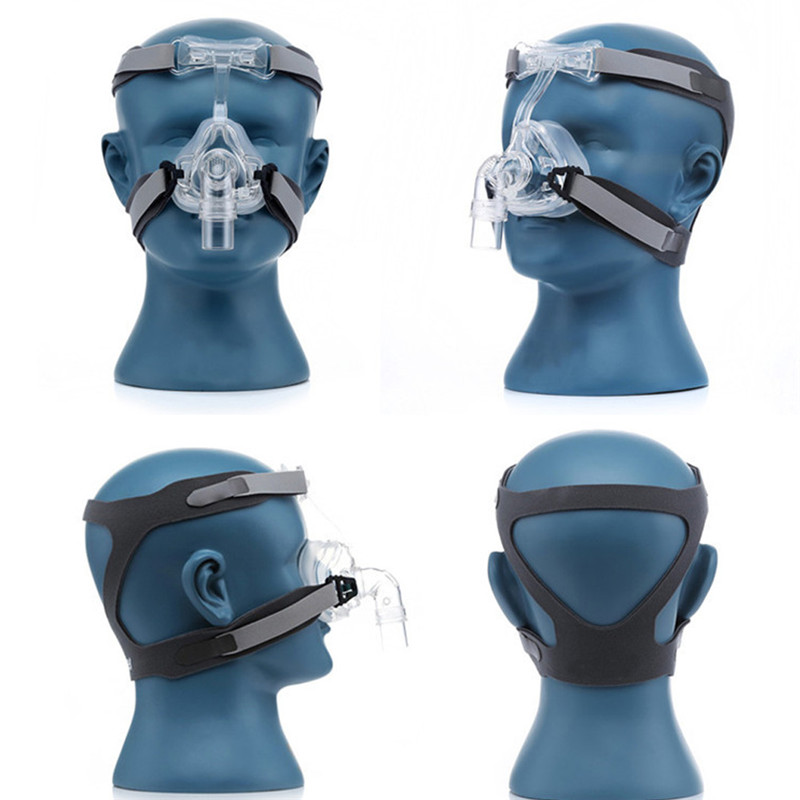 NM2 CPAP Nasal Mask with Headgear and Head Suitable For CPAP Machine and Oxygenator 8
