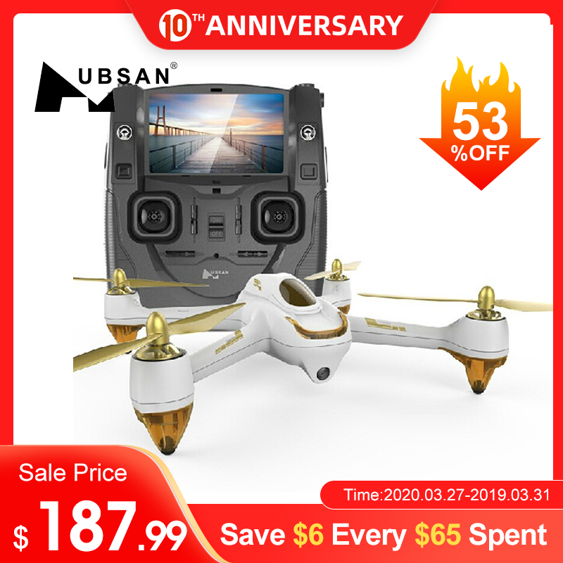 Original Hubsan H501S X4 Pro 5.8G FPV Brushless W/1080P HD Camera GPS RTF Follow Me Mode Quadcopter Helicopter RC Drone