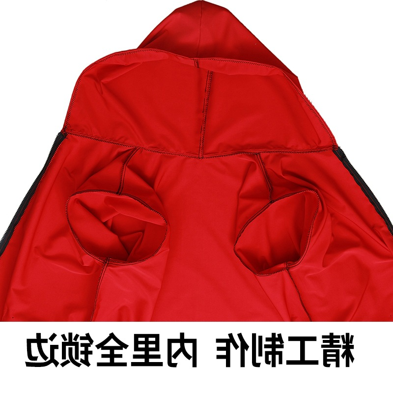 Lengthen Zipper Two-Way Overclothes Adults Work Clothes Household Kitchen Apron Long Down Jacket Protective Clothing Men And Wom