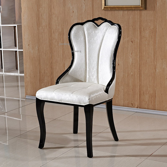 European Style Solid Wood Dining Chair 1