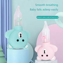 Baby Nasal Aspirator Newborn Cold Snot Cleaner Children's Nasal Suction Device Silicone Push-on Inhaler Baby Hygiene Care Tool