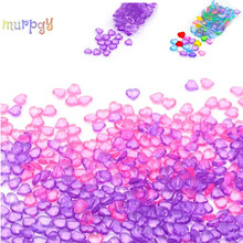 50G Colorful Beads Balls Sprinkles For Slime Fluffy Putty Supplies Antistress Filler Charms Fish Tank Decor Kits