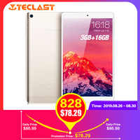 Hot Teclast P80 Pro Tablet PC 8.0 Inch HD Android 7.0 Upgraded 3GB RAM 16GB eMMC ROM MTK8163 Quad Core Double Cams WiFi HDMI GPS