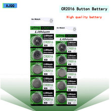 Оптовая продажа с фабрики 25 шт. высокое качество CR2016 3V литиевая батарея DL2016 ECR2016 LM2016 BR2016 CR 2016 кнопочный Аккумулятор для игрушечных часов