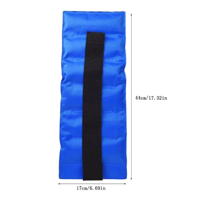 Reusable Ice Pack For Injuries Gel Wrap Hot Cold Therapy Pain Relief with Straps XX9D