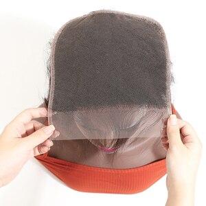 Image 4 - גבריאל שיער ברזילאי ישר 7x7 סגירת שיער טבעי תחרה סגר עם תינוק שיער שוויצרי תחרה 8 22 צבע טבעי רמי שיער