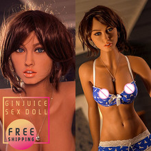 166cm (5.45ft) Full Silicone Sex Doll for Adult Small Tits Hispanic Girl with Slim Figure Soft Skin Flexible Skeleton Sex Toy