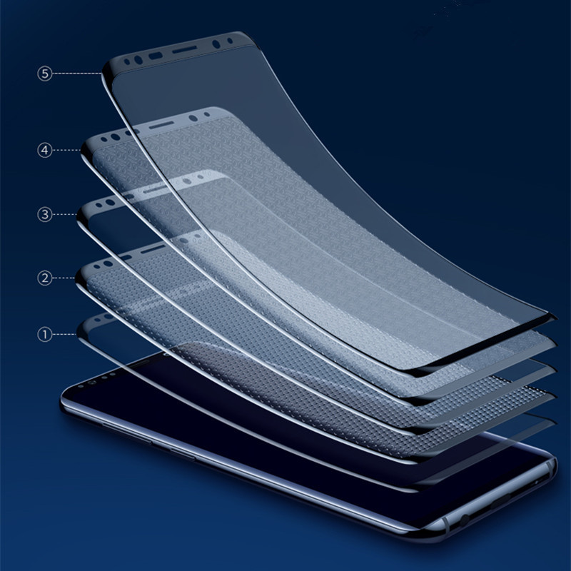 Image 4 - Screen protector Film For Samsung Galaxy S8 S9 Plus S7 edge Note 8 9 Screen Protector For Galaxy Note 10  S6 Edge Film Not Glass-in Phone Screen Protectors from Cellphones & Telecommunications