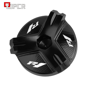 Image 2 - Motorcycle Cnc Aluminium Olievuldop Plug Cover Voor Yamaha R1 YZF R1 1998 2020 2019 2018 2017 2016