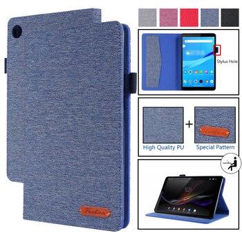 Funda para Lenovo Tab M8, Funda de cuero PU con tapa y...