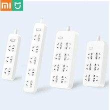 Xiaomi Mijia Power Streifen Schnelle Lade 2500W 10A 6 Standard Steckdosen/8 Standard Steckdosen/3 Buchse Mit 1M/5M Kabel Lade Power