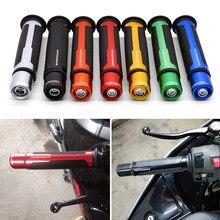 Motocicleta Anti-deslizante Mango para Moto color café manillar de corredor parte para BARRACUDA Kawasaki Z1000 Z650 Z900 Z800 Z250 Z300 Z400 z 750