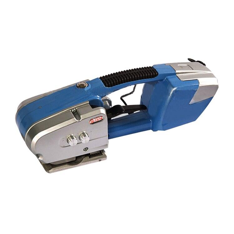 duas baterias alimentaram a ferramenta de cintar eletrica pp maquina de cintar handheld do animal de