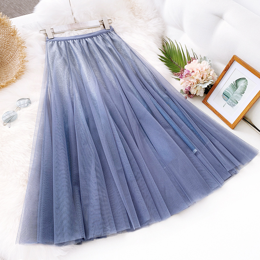 2020 New Spring Fashion Women Skirts  A-line Women Shinging Skirts Summer Long Skirt Women Fashion Clothing