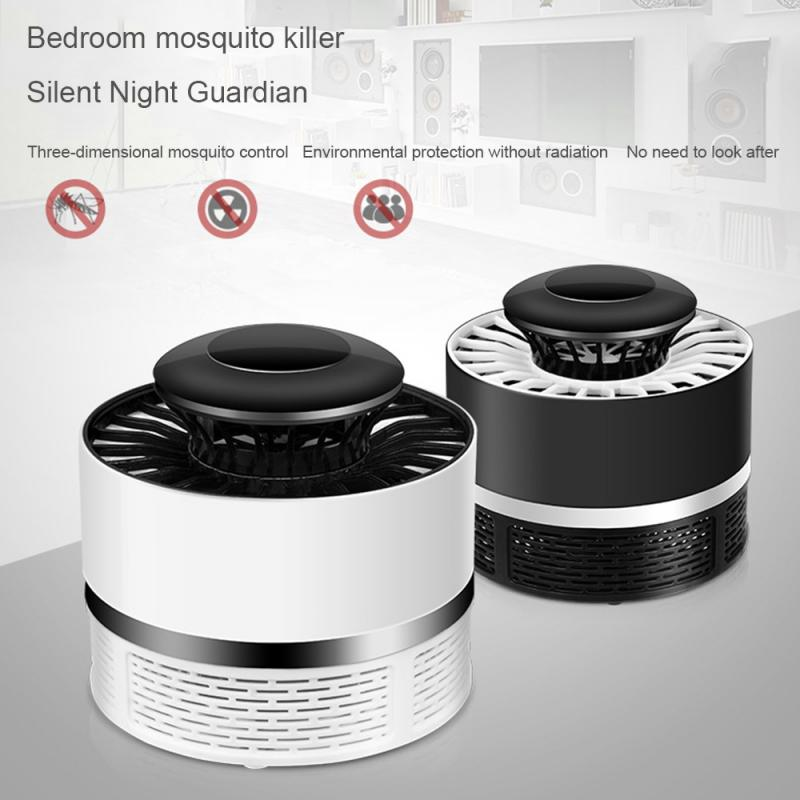 New LED Mosquito Killer Lamp USB Electric No Noise No Radiation Insect Killer Flies Trap Lamp Anti Mosquito Lamp
