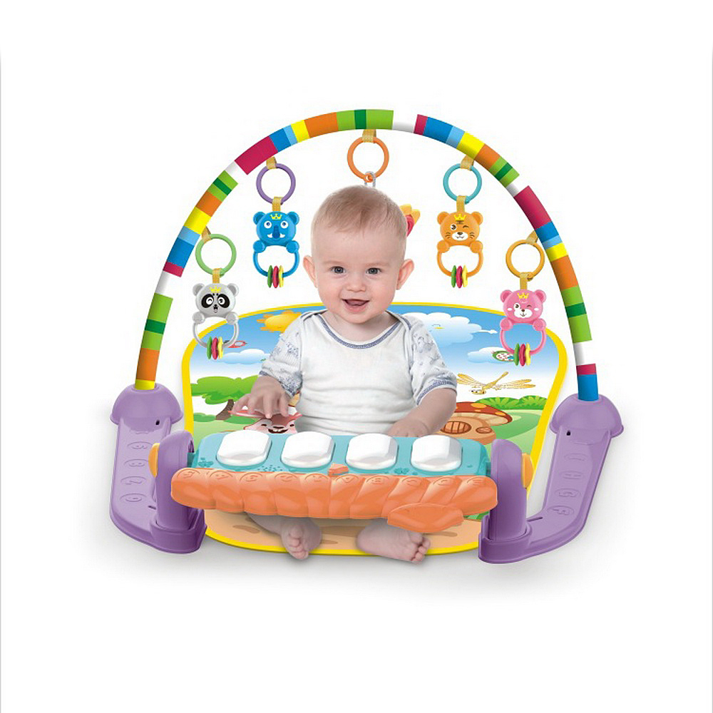Baby Music Rack Play Mat Kid Rug Puzzle Carpet Piano Keyboard Infants Develop Early Education Gym Crawling Game Pad Toy