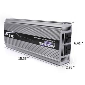 цена на Inverter 12v 110v 5000W Voltage Converter 12v Car Power Inverter Adapter Charger Modified Sine Wave Power Inverter