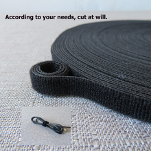 Velcro-Fastener Wire-Strap Double-Sided Hook Glue Loop Magic-Tape Sewing And Without