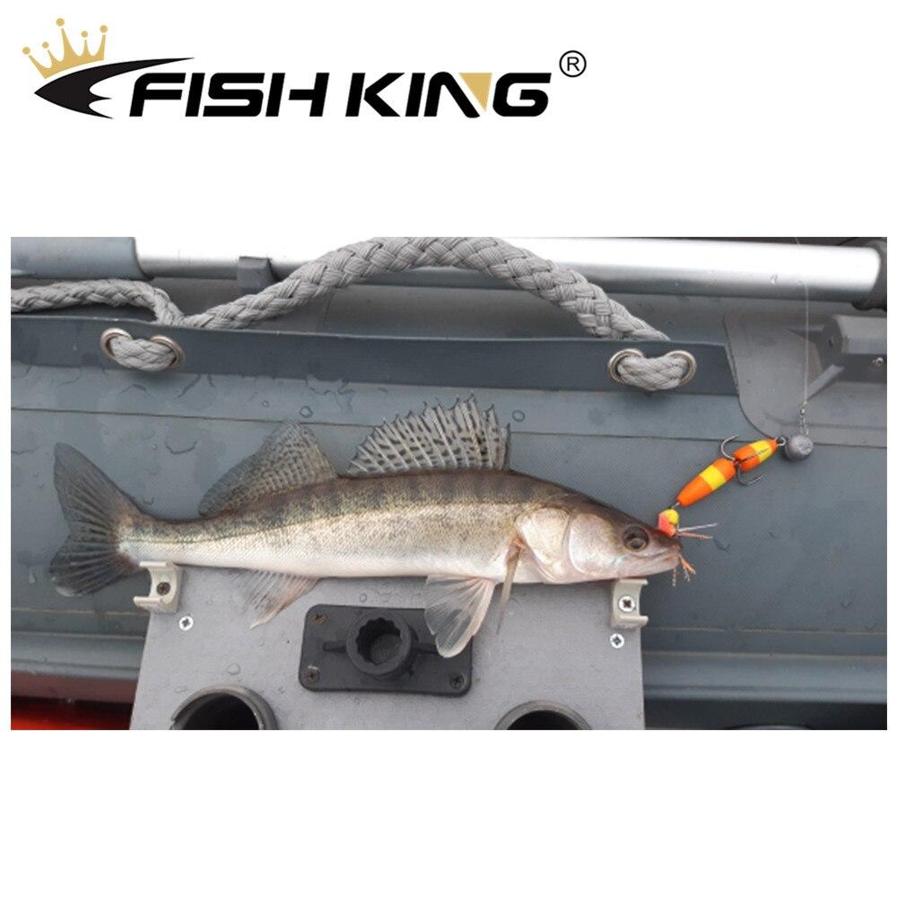 FISH KING Mandula Hot Sale Fishing Lure Soft Lures Foam Bait Swimbait Wobbler Bass Pike Lure Insect Artificial Baits Pesca 5