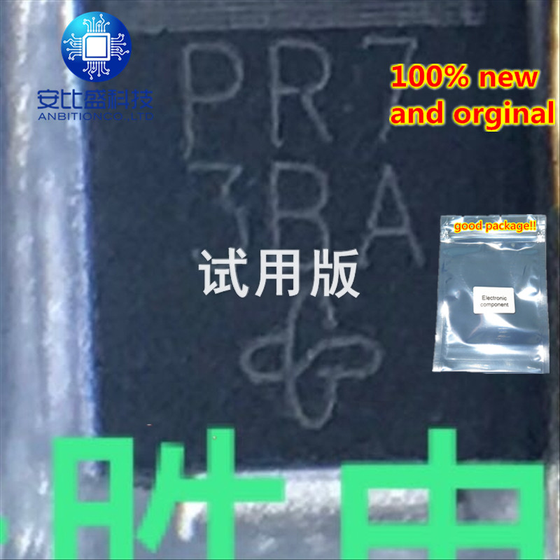 25pcs 100% New And Orginal  SM6T200A DO214AA Silk-screen PR7 In Stock