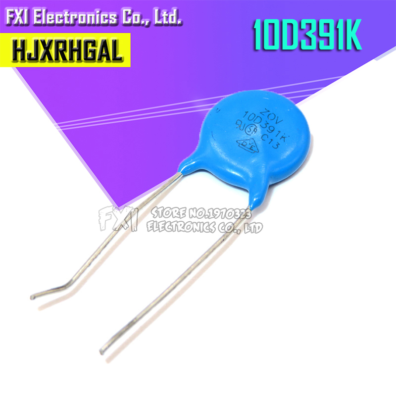 10PCS 391K Piezoresistor 10D391K 390V Varistor Resistor