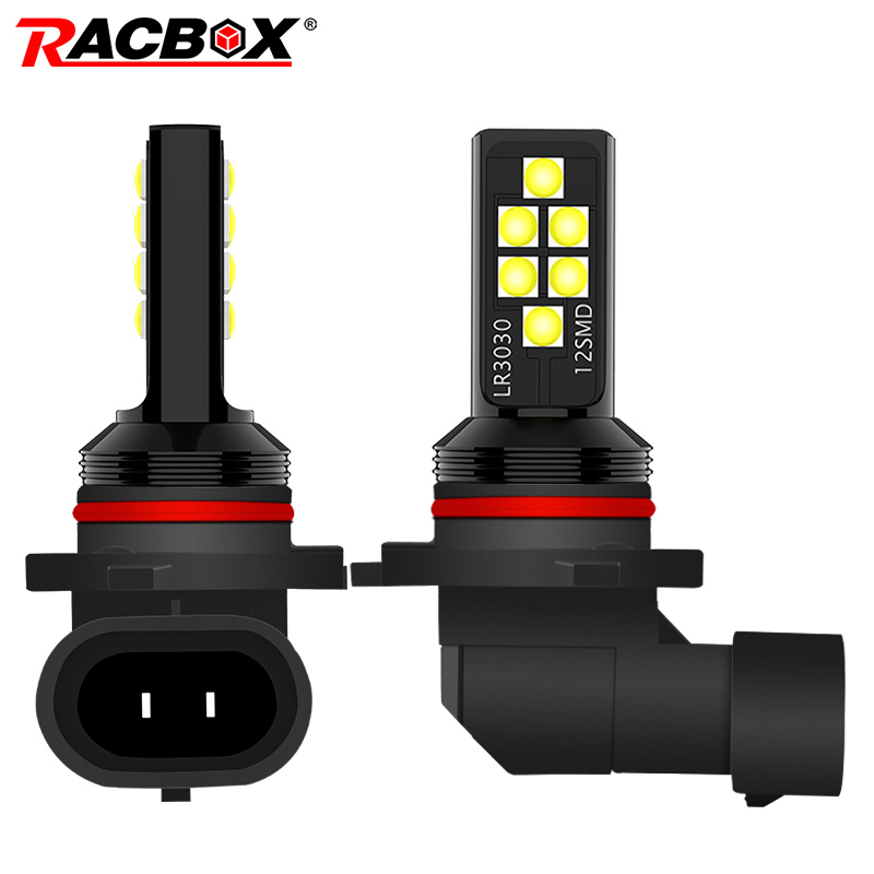 H11 H8 H1 H3 H7 9005 9006 HB4 HB3 P13W Car Led Fog Light Bulbs High Power 3030 Chips White Yellow Car Driving Light Fog Lamp 12V