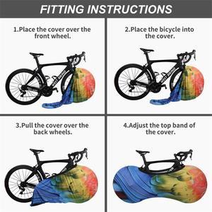 Image 4 - WEST BIKING MTB Road Bike Protector Wheels Cover Dust Proof Scratch proof Indoor Protective Gear 26 27.5 29 700C Storage Bag