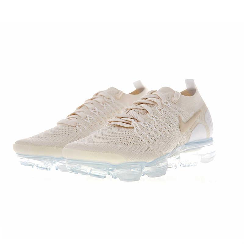 Оригинальные оригинальные женские кроссовки для бега Nike Air VaporMax Flyknit 2,0, уличные кроссовки, спортивная дизайнерская обувь для бега 942843