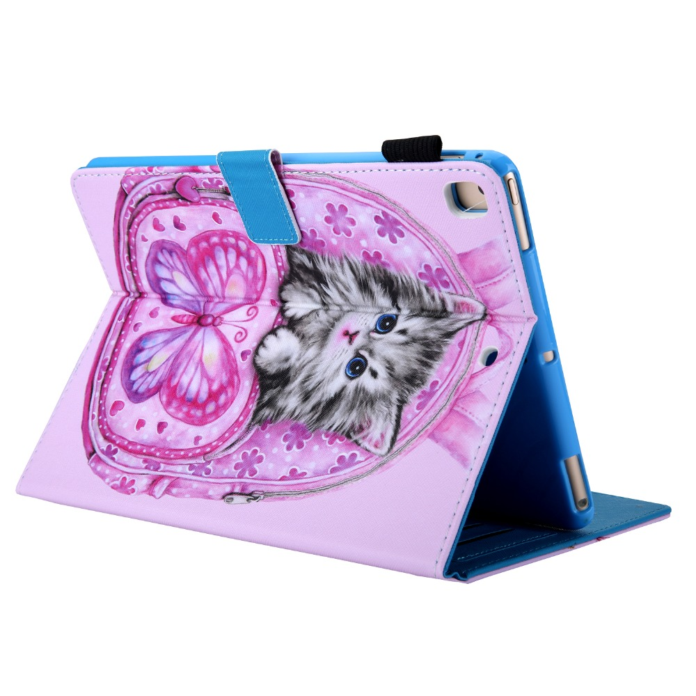iPad PU New Case 7th-Generation Tablet Funda Smart-Cover Magnetic-Stand 10.2 for