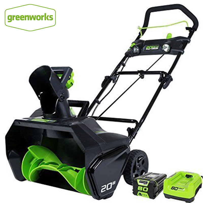 Greenworks PRO 20 Inch 80V Cordless Snow Thrower Included 5.0 AH Battery|Blowers| |  - title=
