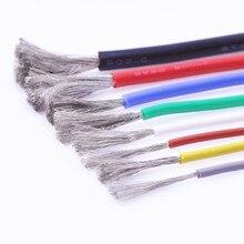 Câble de Test Ultra flexible, câble en Silicone, 4 6 7 8 10 11 12 13 14 15 16 17 18 20 22 24 26 28 30 AWG, câble en Silicone