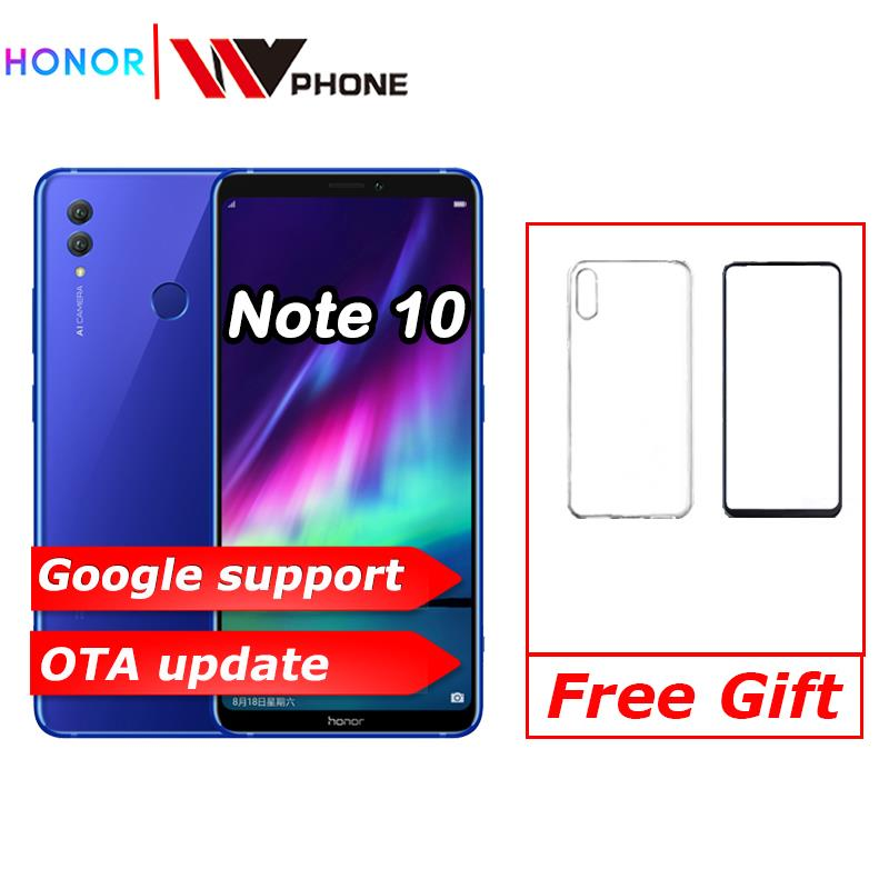 Honor Note 10 Mobile Phone Kirin 970 Octa Core Mobile Phone Dual SIM 6.95 Inch Android 8.1  Fingerprint ID NFC