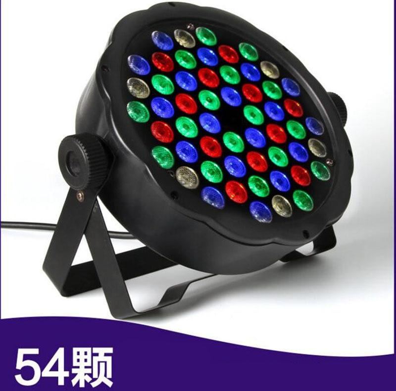4pcs/lot DMX Control 54 RGBW LED Par Light For Disco Party DJ Bar Lamp Music Show Strobe Projector Stage Lighting Effect|Stage Lighting Effect| |  - title=