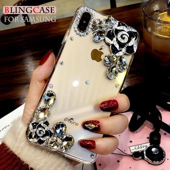 for-samsung-galaxy-s6-s7-edge-s8-s9-s10e-s10-plus-s20-fe-note-20-ultra-8-9-10-lite-diamond-camellia-flower-case-rhinestone-cover