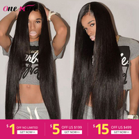 Long Straight Lace Front Wig 28 30 32 34 36 38 40 Inches Lace Front Human Hair Wigs PrePlucked With Baby Hair Remy Brazilian Wig