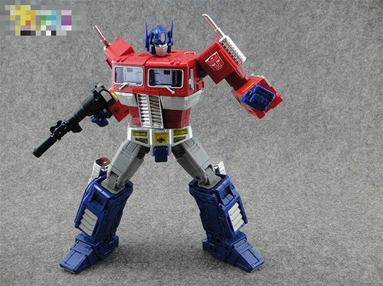 Robot transformateurs Takara Tomy chef d'oeuvre japon MP10 mp-10 Optimus Prime pas de figurine d'action de compartiment de voiture jouet à collectionner