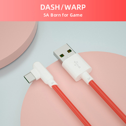 Usb C Cable 90 Degree For Oneplus Dash Cable Quick Fast Charging Cabel One Plus Nord 8 Pro 5g 7 T 6 Warp Charger Wire 1m 1.5m 2m