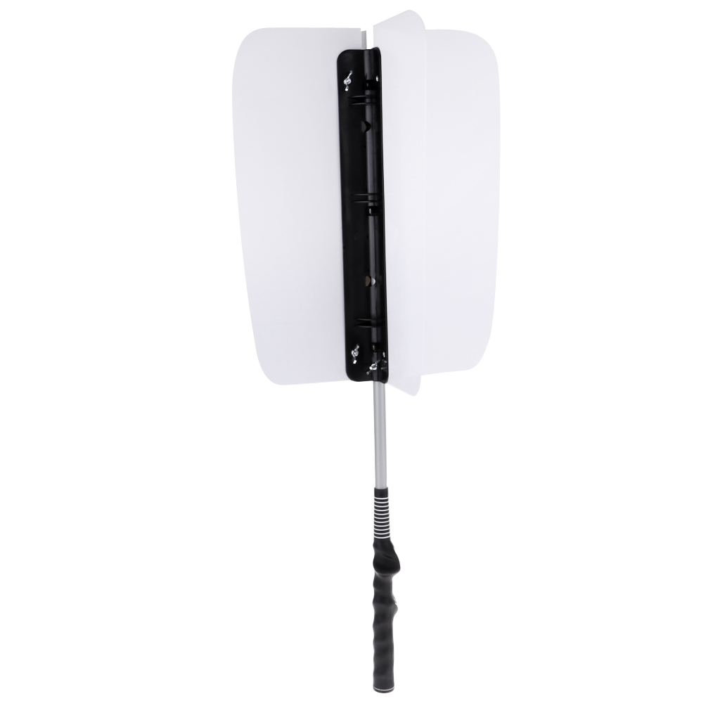 Golf Swing Fan Trainer - Comes With Correct Grip Trainer, For Right Hand Golfers