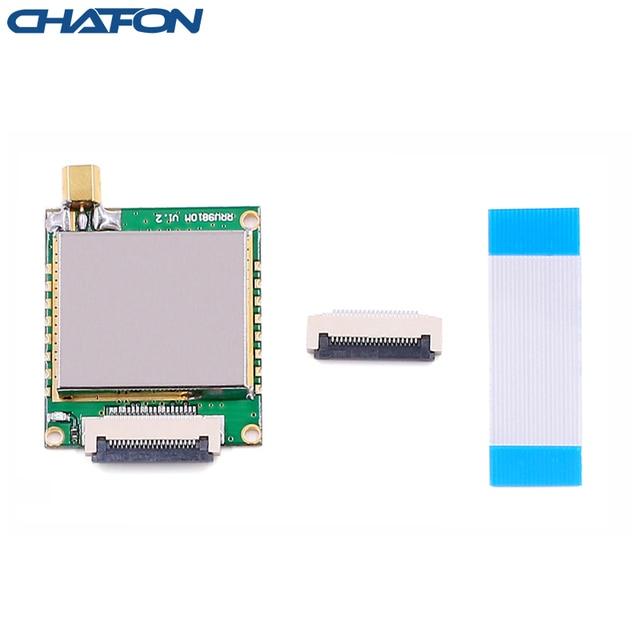 CHAFON Módulo lector rfid uhf de largo alcance, 8M, 865 868Mhz, 902 928mhz, con un puerto de antena utilizado para el sistema de sincronización