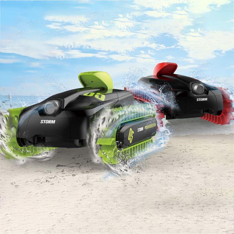 18SL02 1:16 RC voiture cascadeur bateau télécommande 4WD camion amphibie radiocommandé véhicules pour enfants jouets cadeaux