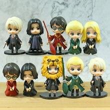 Q Posket Hermione Luna Granger Ron Weasley Draco Malfoy Severus Snape Q Version figurines en PVC jouets 5 pièces/et