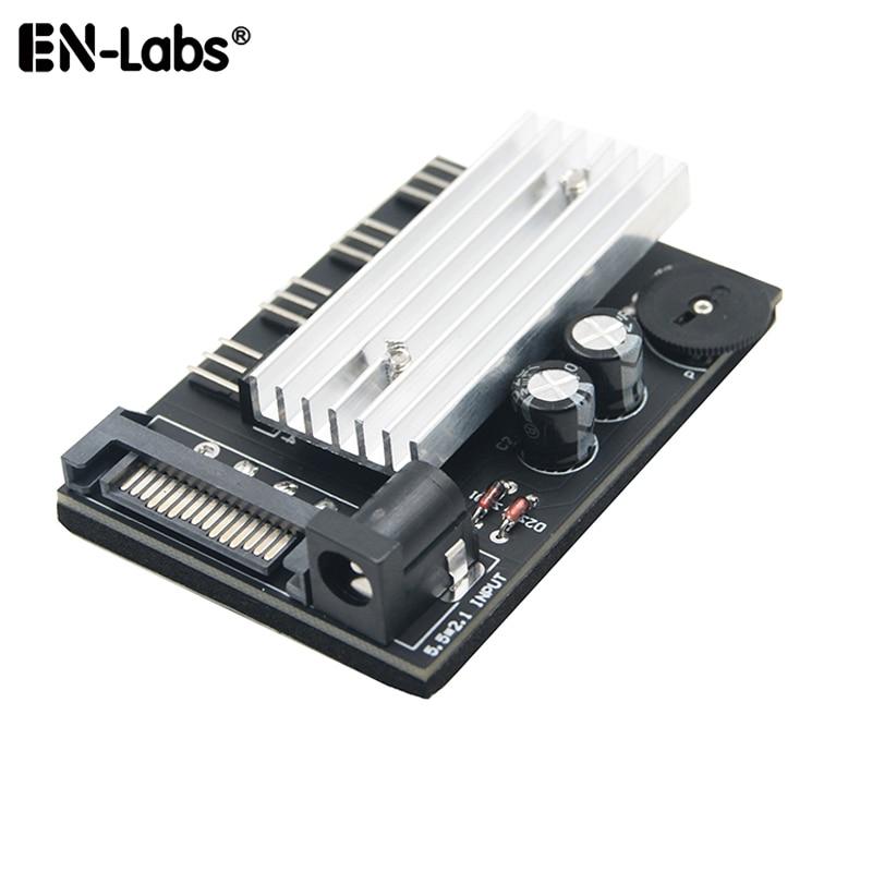 3pin Fan Controller Hub,3 4 Channel Molex or SATA Fan Splitter w/ Control Knob Computer PC Case 12V Fan Cooler Speed Temperature