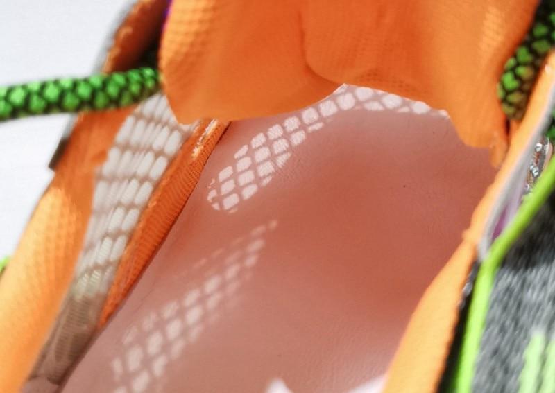 Couro real diamantes plataforma respirável tênis designer