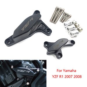 YZF R1 Motorcycle CNC POM Frame Slider Engine Stator Case Saver Crash Pad Proctor For Yamaha YZF-R1 2007 2008(China)