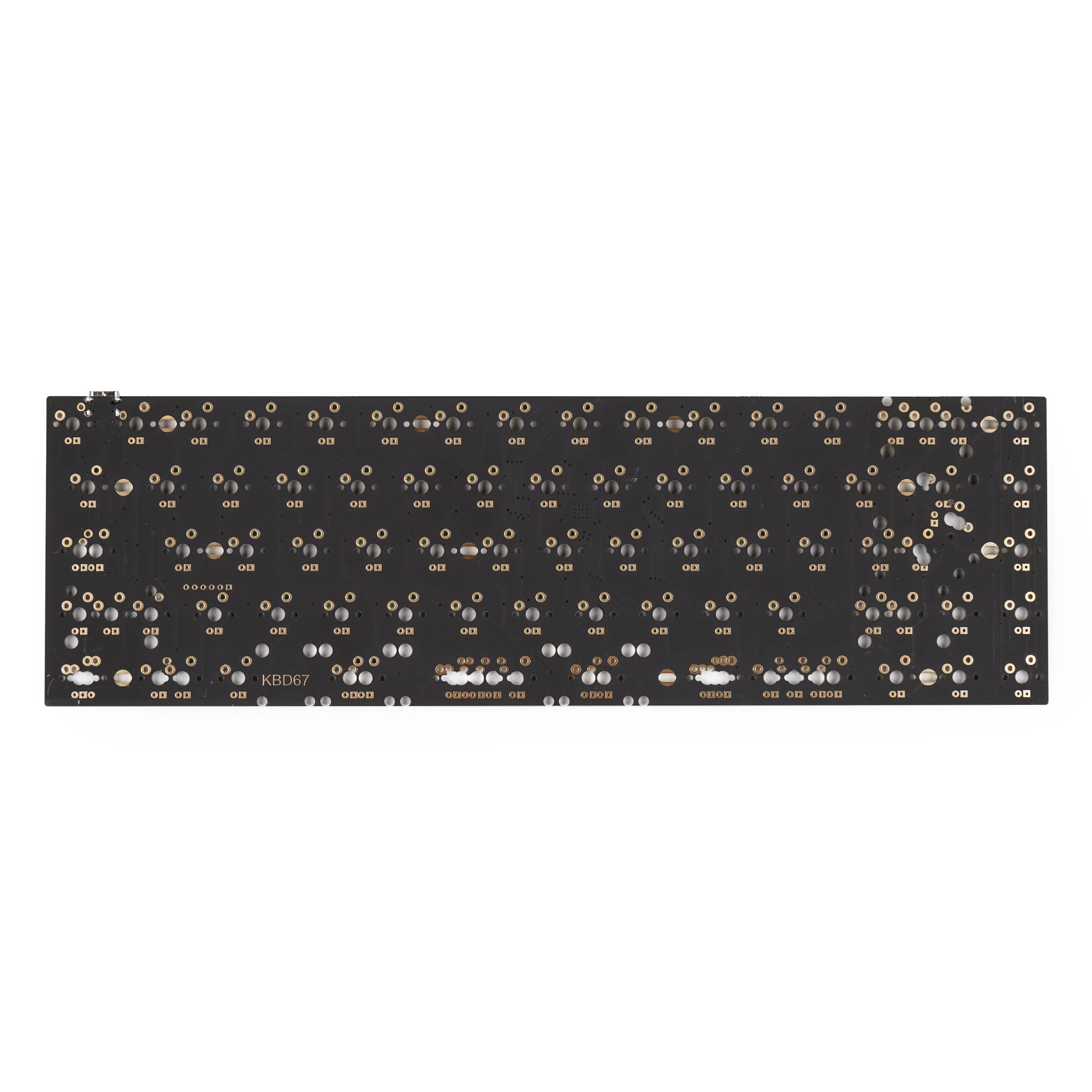 KBD65 65% Custom Mechanical Keyboard PCB