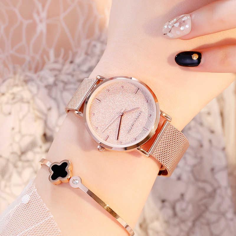 여성 시계 톱 브랜드 럭셔리 일본 쿼츠 무브먼트 스테인레스 스틸 슬리버 화이트 다이얼 방수 손목 시계 relogio feminino