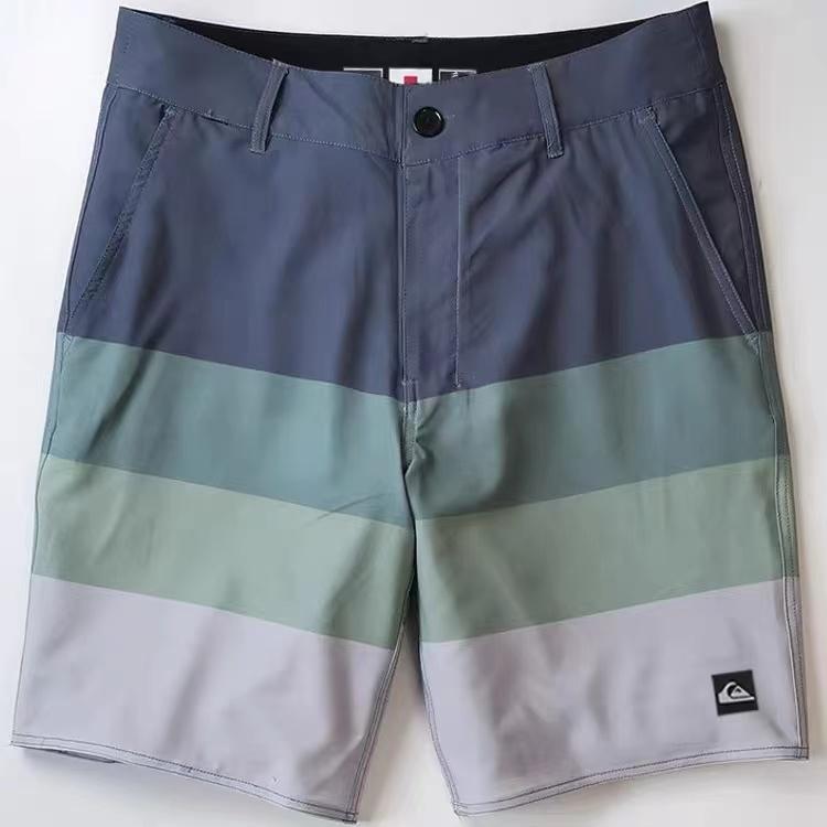 Shipping Discount New Men Quick Dry Waterproof Boardshorts  Beach Surf Swimwear Top Quality Phantom Striped Board shorts Spandex