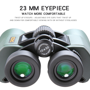 Image 5 - SCOKC Hd 10X50 powerful zoom Binoculars telescope for hunting professional high quality no Infrared army Low night vision