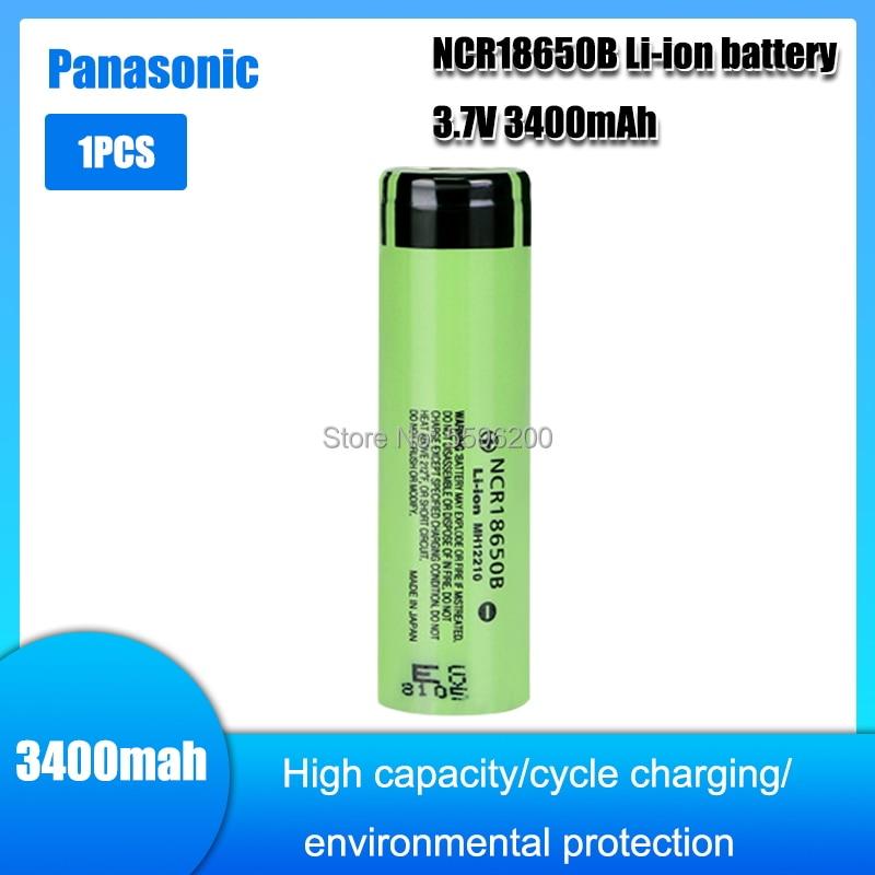 1 шт. 100% новый Оригинальный NCR18650B 3,7 v 3400 mah 18650 литиевая аккумуляторная батарея фонарик батареи